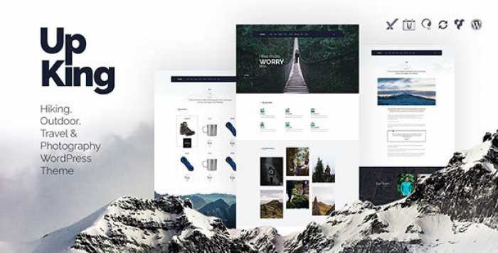 UPKING V1.1.1 – HIKING CLUB WORDPRESS THEME