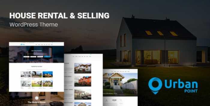 URBANPOINT V1.3.1 – HOUSE SELLING & RENTAL THEME