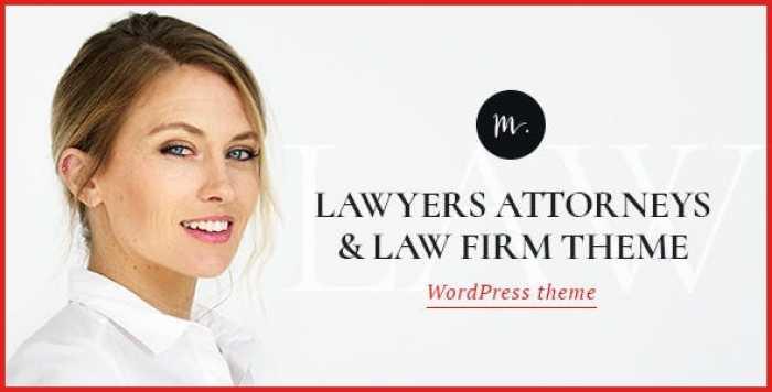 M.WILLIAMSON V1.2 – LAWYER & LEGAL ADVISER THEME