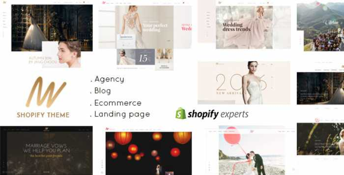 THE VOW – WEDDING RESPONSIVE SHOPIFY THEME