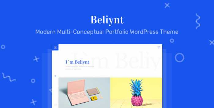 BELIYNT LITE – MODERN MULTI-CONCEPTUAL PORTFOLIO THEME