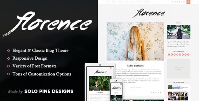 FLORENCE V1.4 – A RESPONSIVE WORDPRESS BLOG THEME