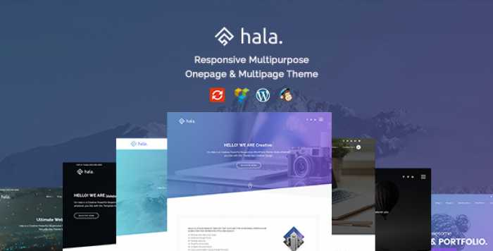 HALA V1.0.0 – CREATIVE MULTI-PURPOSE WORDPRESS THEME