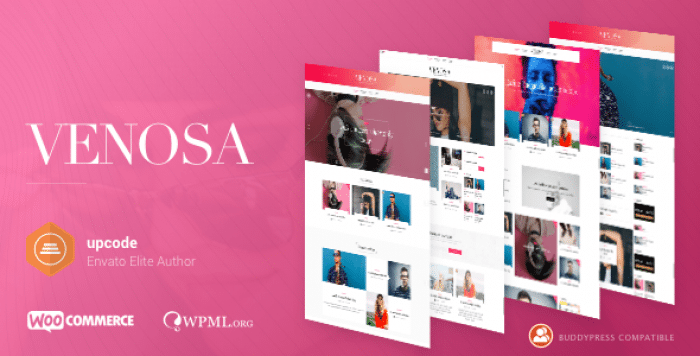 VENOSA V1.0.5 – MAGAZINE & BLOG WORDPRESS THEME