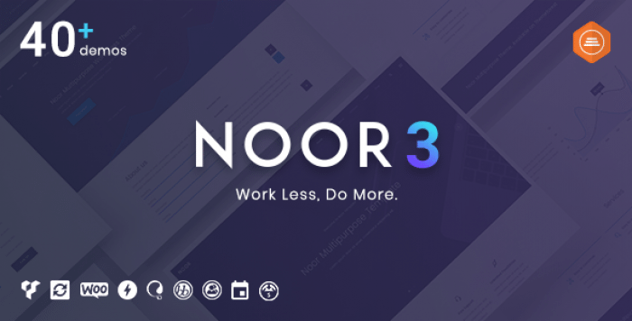 NOOR V3.7.0 – FULLY CUSTOMIZABLE CREATIVE AMP THEME