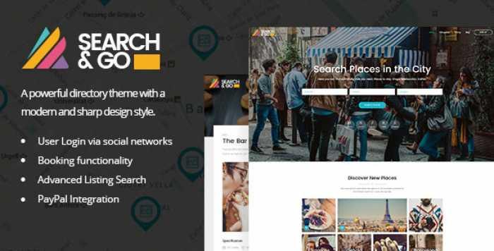 SEARCH & GO V2.2 – MODERN & SMART DIRECTORY THEME
