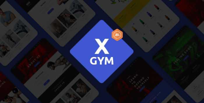 X-GYM V1.1 – FITNESS WORDPRESS THEME FOR FITNESS CLUBS