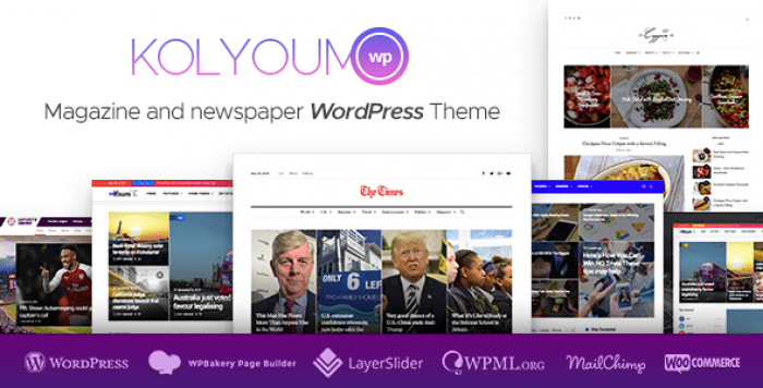 KOLYOUM NEWS V1.2.1 – NEWSPAPER MAGAZINE NEWS
