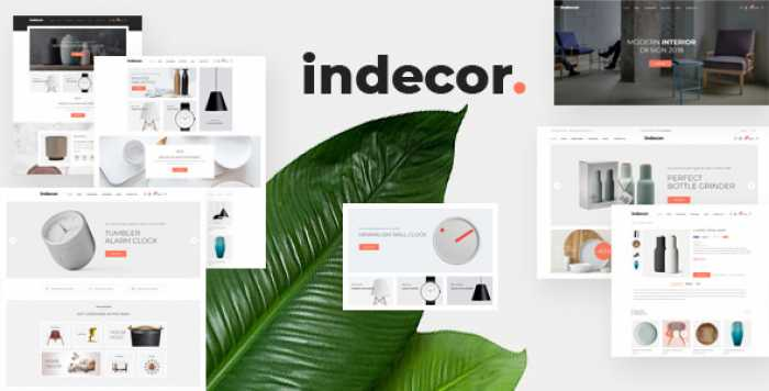INDECOR – CLEAN & MINIMAL OPENCART THEME