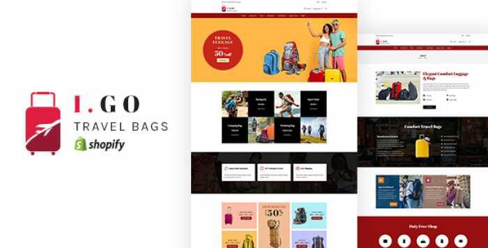 IGO V1.0 – TRAVEL BAGS SHOPIFY THEME