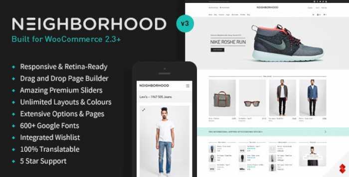 NEIGHBORHOOD V3.5.0 – RESPONSIVE MULTI-PURPOSE SHOP THEME