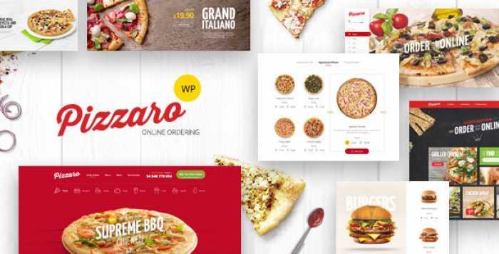 PIZZARO V1.2.8 – FAST FOOD & RESTAURANT WOOCOMMERCE THEME