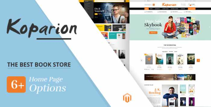 KOPARION – BOOK SHOP RESPONSIVE OPENCART THEME
