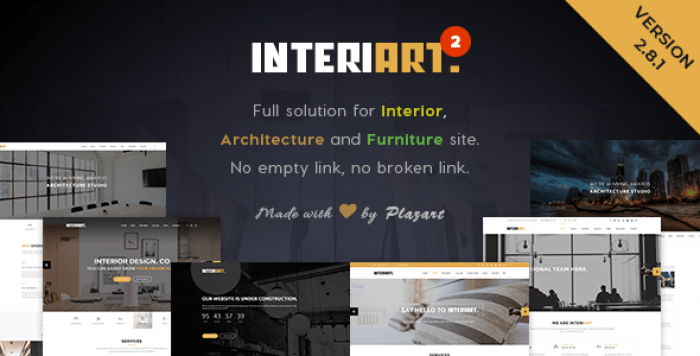 INTERIART V2.8.1 – FURNITURE & INTERIOR WORDPRESS THEME