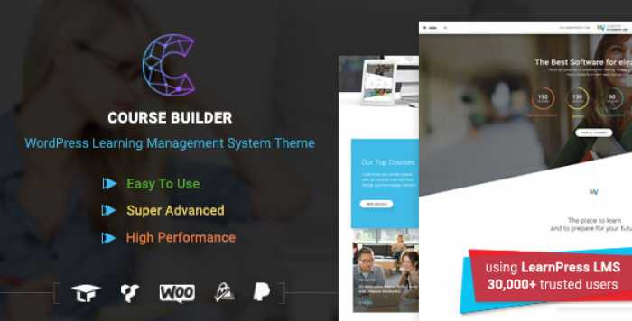 COURSE BUILDER V2.3.4 – LMS THEME FOR ONLINE COURSES