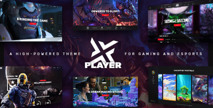 PLAYERX V1.1 – A HIGH-POWERED THEME FOR GAMING