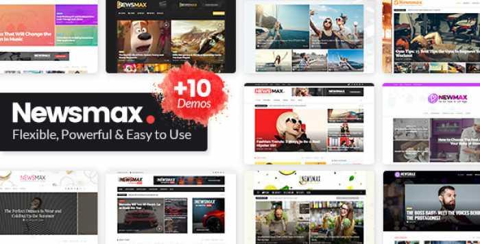 NEWSMAX V2.4 – MULTI-PURPOSE NEWS & MAGAZINE THEME