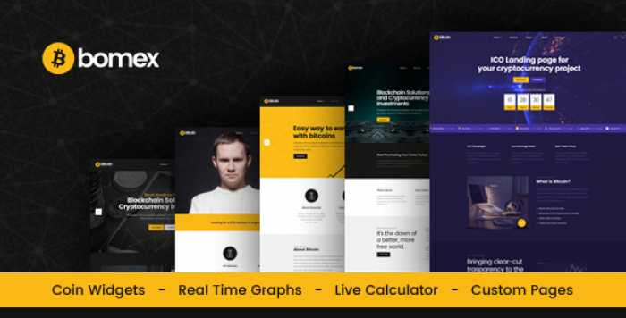 BOMEX – CRYPTOCURRENCY & BITCOIN HTML TEMPLATE
