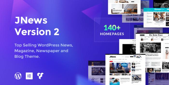 JNEWS V2.1.2 – NEWSPAPER MAGAZINE BLOG AMP THEME