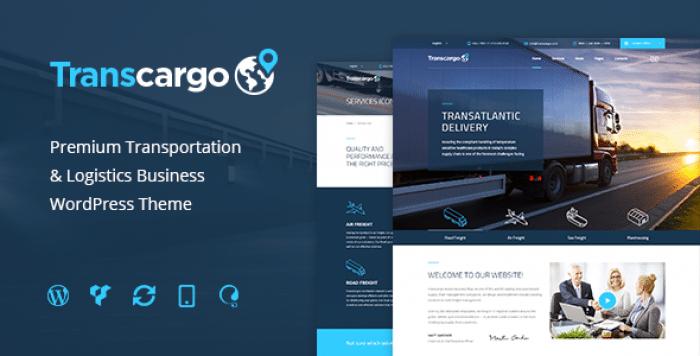 TRANSCARGO V2.0 – LOGISTICS & TRANSPORTATION WP THEME
