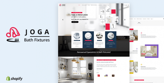 JOGA V1.1 – BATH FITTINGS SHOPIFY THEME