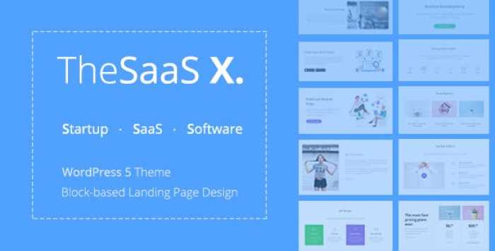 THESAAS X V1.0.5 – RESPONSIVE SAAS, STARTUP & BUSINESS