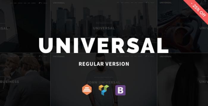 UNIVERSAL V1.0.7 – CORPORATE WORDPRESS MULTI-CONCEPT THEME