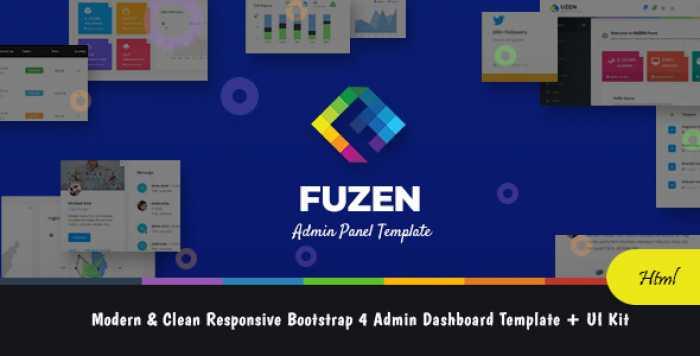 FUZEN – MODERN & CLEAN RESPONSIVE BOOTSTRAP 4 ADMIN DASHBOARD TEMPLATE + UI KIT