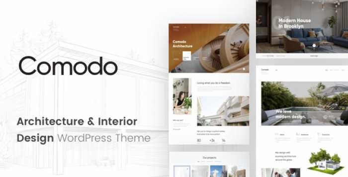 COMODO V1.0.1 – ARCHITECTURE AND INTERIOR DESIGN THEME