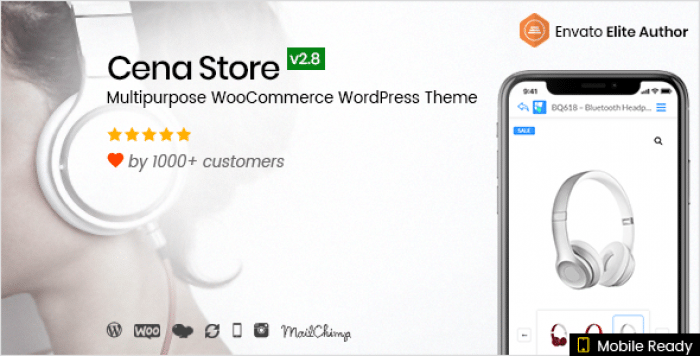 CENA STORE V2.8.1 – MULTIPURPOSE WOOCOMMERCE THEME