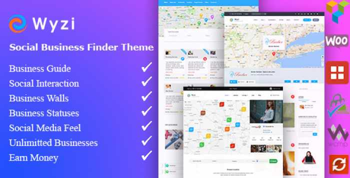 WYZI V2.2.1 – SOCIAL BUSINESS FINDER DIRECTORY THEME