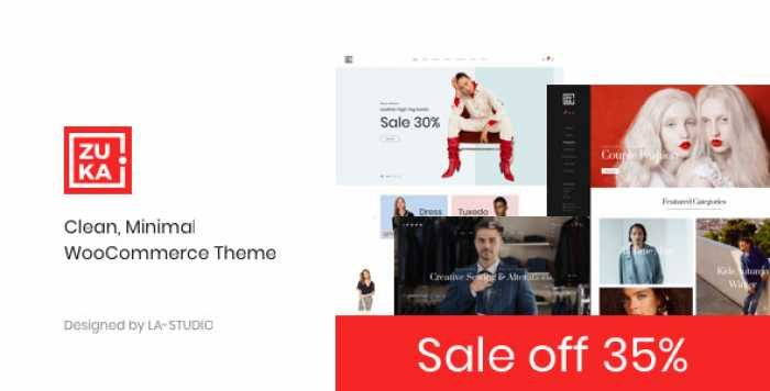 ZUKA V1.0.2 – CLEAN, MINIMAL WOOCOMMERCE THEME