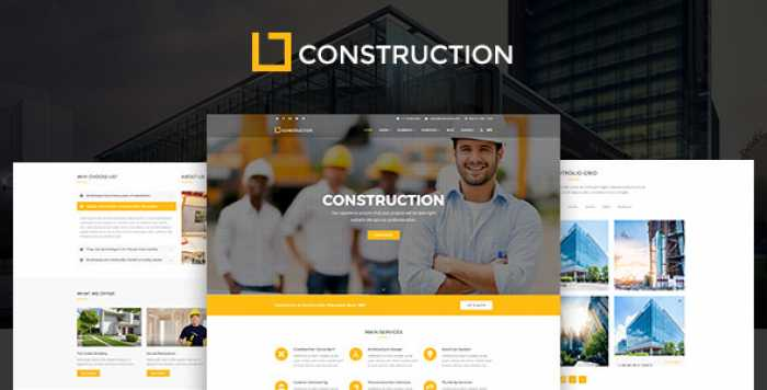 CONSTRUCTION V1.0.6 – BUSINESS & BUILDING COMPANY WORDPRESS THEME