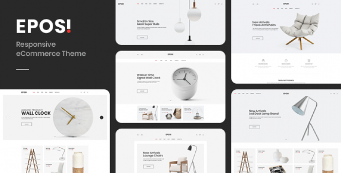 EPOSI – OPENCART THEME (INCLUDED COLOR SWATCHES)
