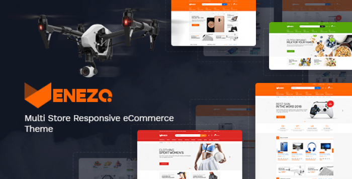 VENEZO – TECHNOLOGY OPENCART THEME (INCLUDED COLOR SWATCHES)