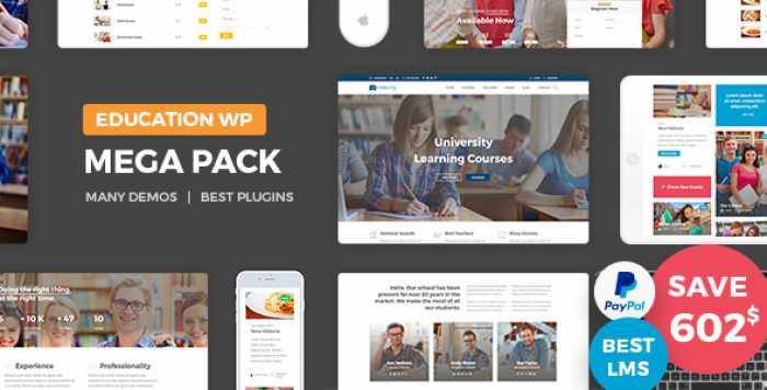 EDUCATION PACK V1.3 – EDUCATION LEARNING THEME WP