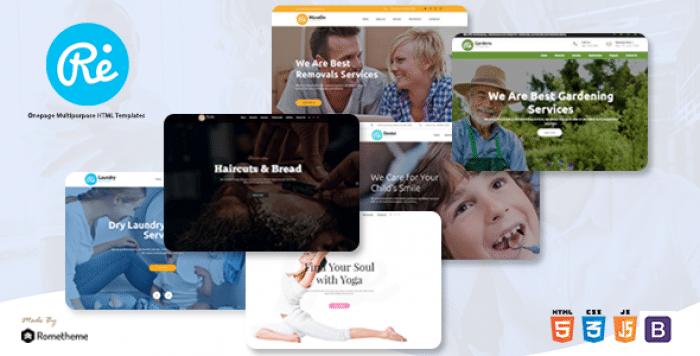 RE – MULTI-PURPOSE RESPONSIVE HTML TEMPLATES