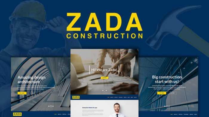 ZADA V1.0 – CONSTRUCTION WORDPRESS THEME