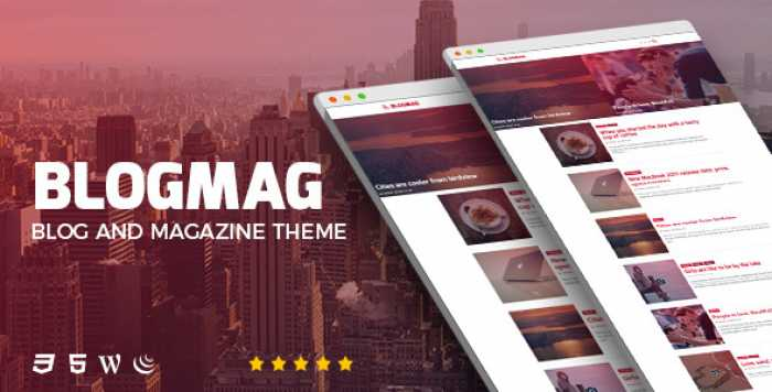 BLOGMAG V1.0 – RESPONSIVE BLOG AND MAGAZINE THEME