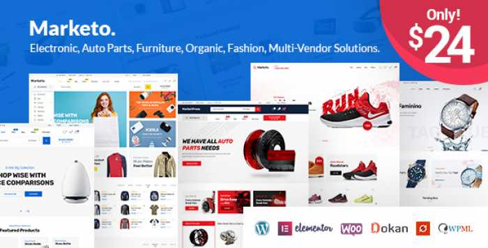 MARKETO V1.3.2 – ECOMMERCE & MULTIVENDOR THEME