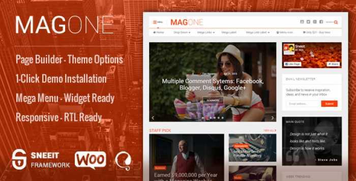 MAGONE V6.2 – NEWSPAPER & MAGAZINE WORDPRESS THEME