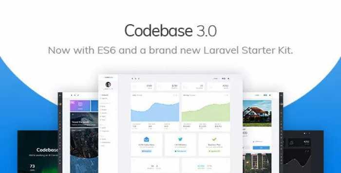 CODEBASE V3.0 – BOOTSTRAP 4 ADMIN DASHBOARD TEMPLATE & LARAVEL STARTER KIT