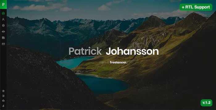 PATRICK V1.22 – PERSONAL PORTFOLIO / CV / RESUME / VCARD TEMPLATE