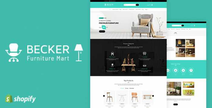 BECKER V1.1 – SECTIONED FURNITURE & LIGHTS SHOPIFY THEME