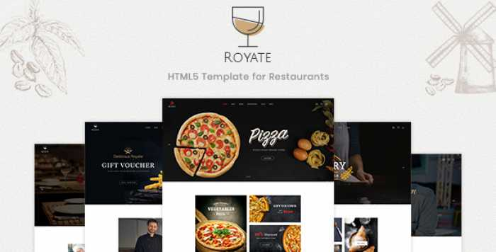 ROYATE – RESTAURANT HTML5 TEMPLATE