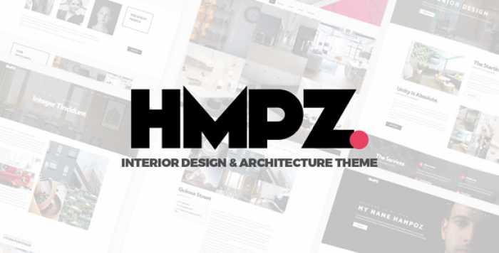 HAMPOZ V1.1.3 – RESPONSIVE INTERIOR DESIGN & ARCHITECTURE THEME