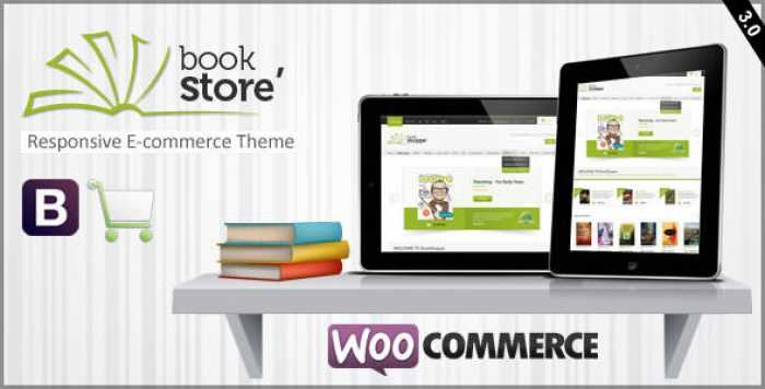 BOOK STORE V3.0 – RESPONSIVE WOOCOMMERCE THEME