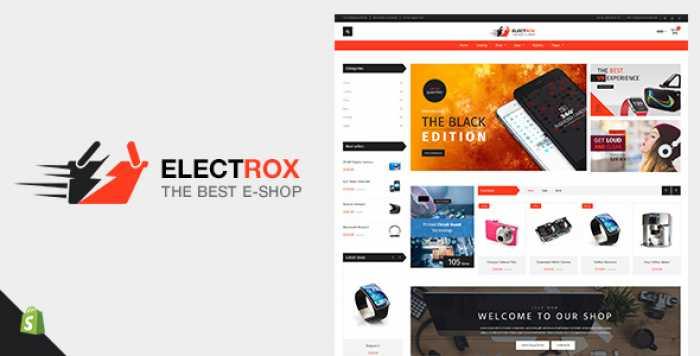 ELECTROX V1.2 – ELECTRONICS SHOPIFY THEME