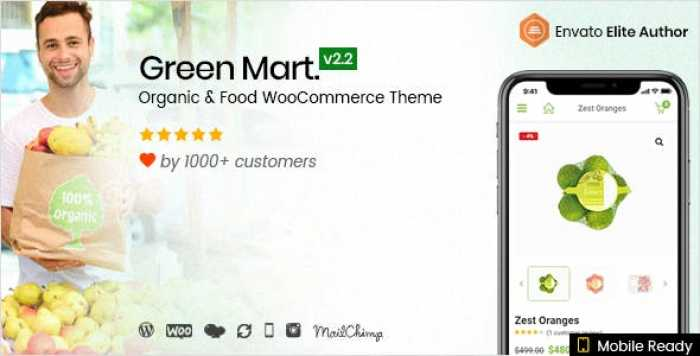 GREENMART V2.2.4 – ORGANIC & FOOD WOOCOMMERCE THEME
