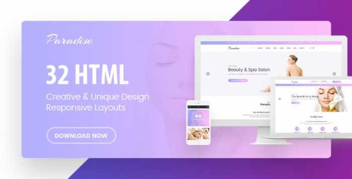 PARADISE – MULTIPURPOSE HTML TEMPLATE